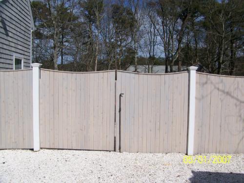 8` Double Gate/ Scalloped Board