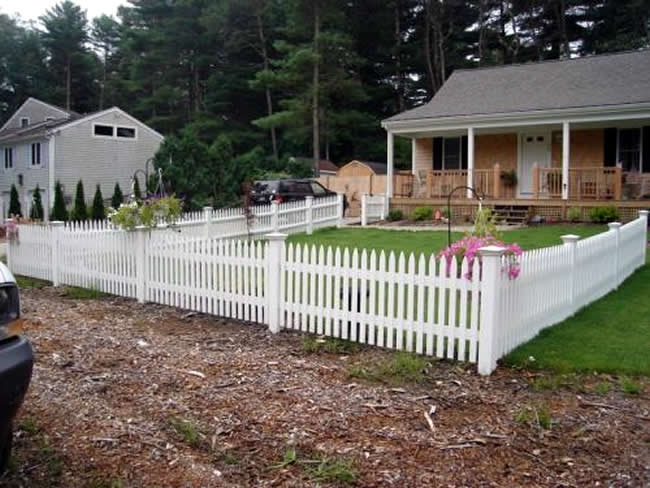 Nantucket Picket Fence - Picket 16