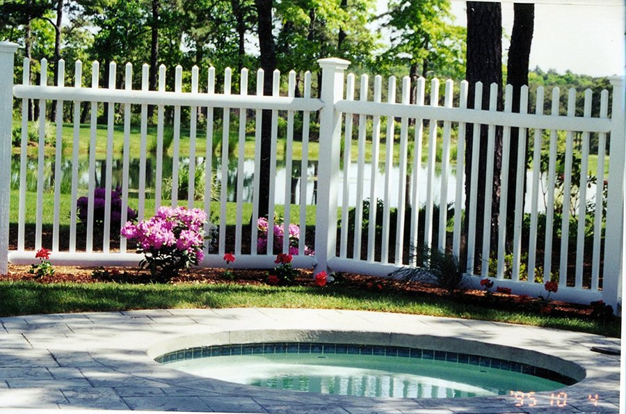 Picket Fence Cedar Baluster Pool Code -Picket Fence 2