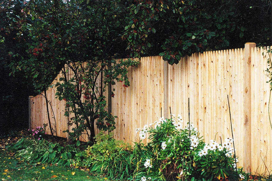 Privacy Cedar Stockage with Tapered End - Privacy 6