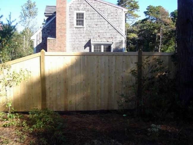 Privacy Fence Cedar Board Face Kick - Privacy 12