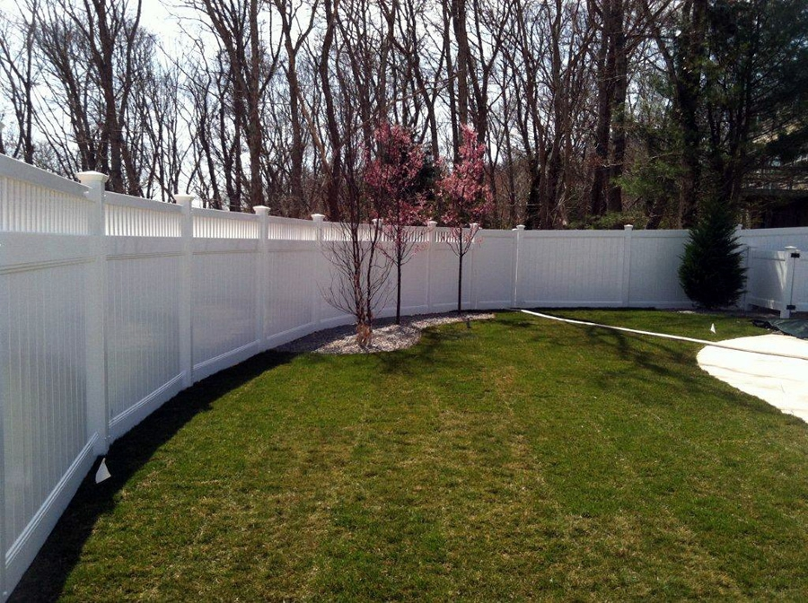 Privacy Fence Closed Baluster Vinyl Board - Privacy 15