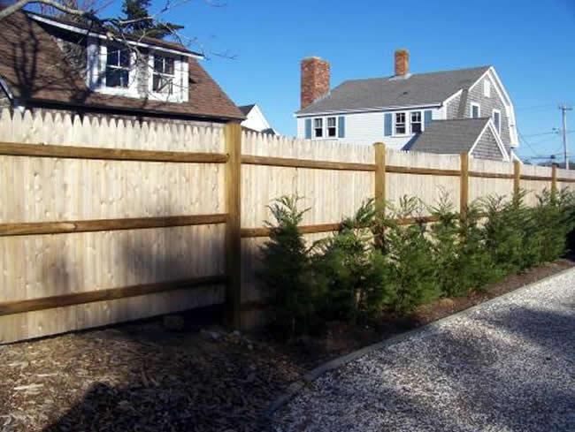 Privacy Stockade Fence - Privacy 21
