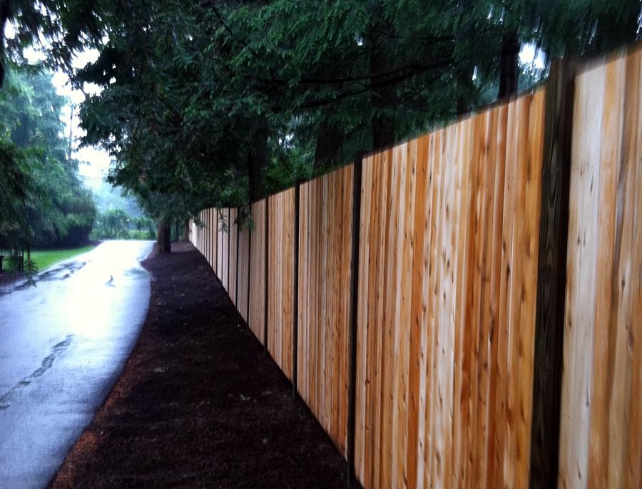 Privacy Wood Fence Cedar Board - Privacy 23