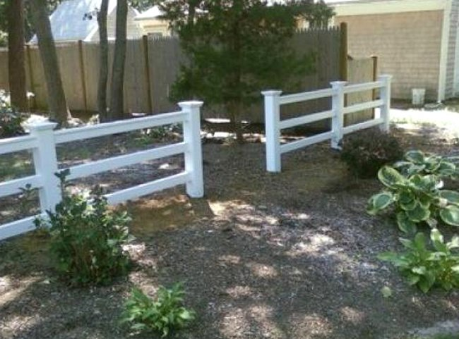Cape Cod Rail Fencing Bennett Fence And Arbor On Cape Cod