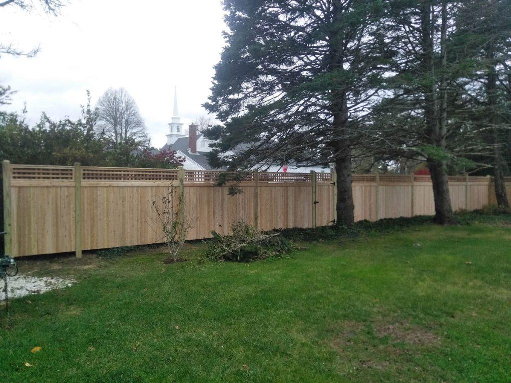 5+1 foot Square Lattice Privacy Fence - Privacy 28
