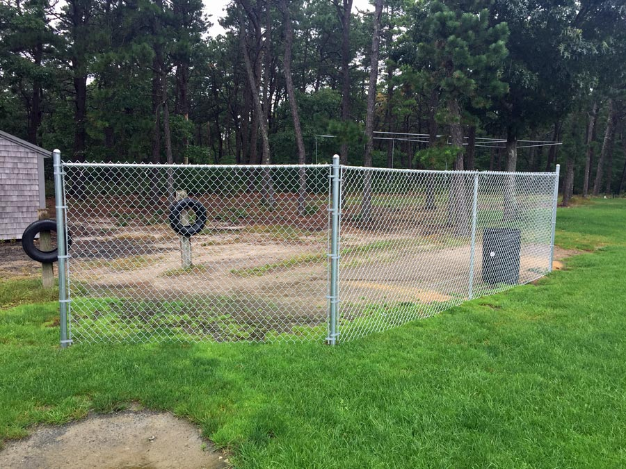 DY High School Chainlink Fence - Chain 10