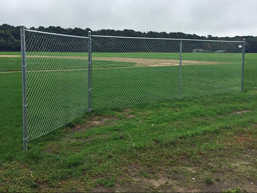 DY High School Chainlink Fence - Chain 8