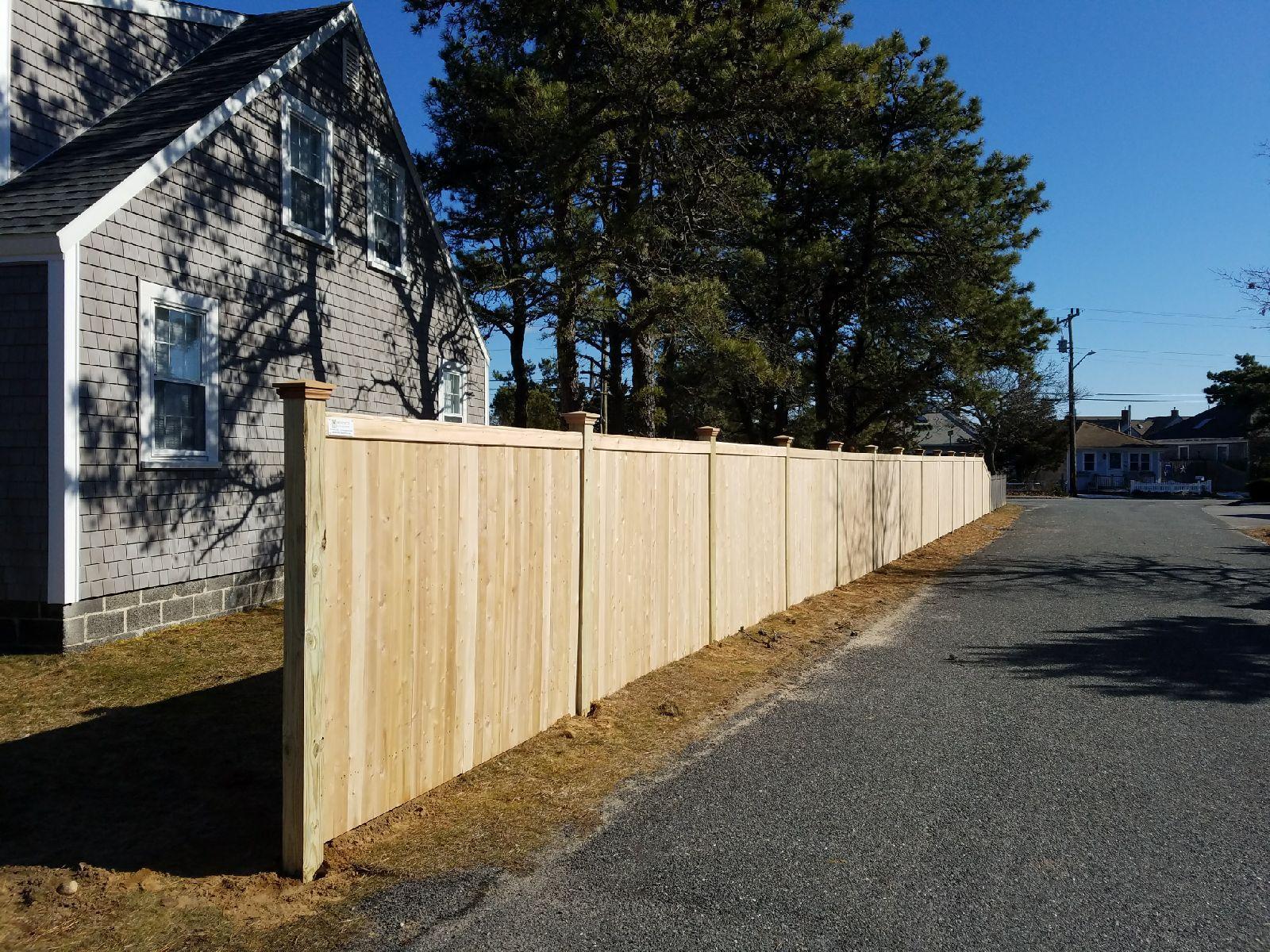 6 foot Cedar Board 2-way - Privacy 24