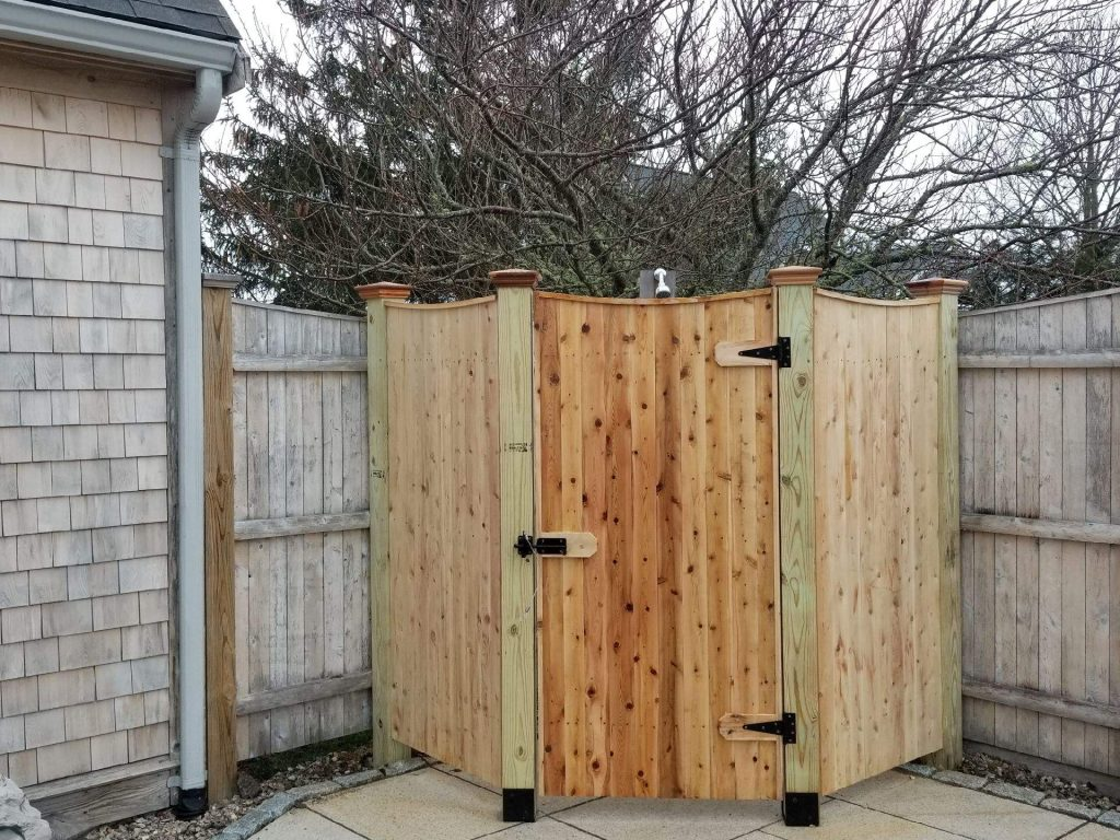 1x4 board shower stall - Enclosure 11