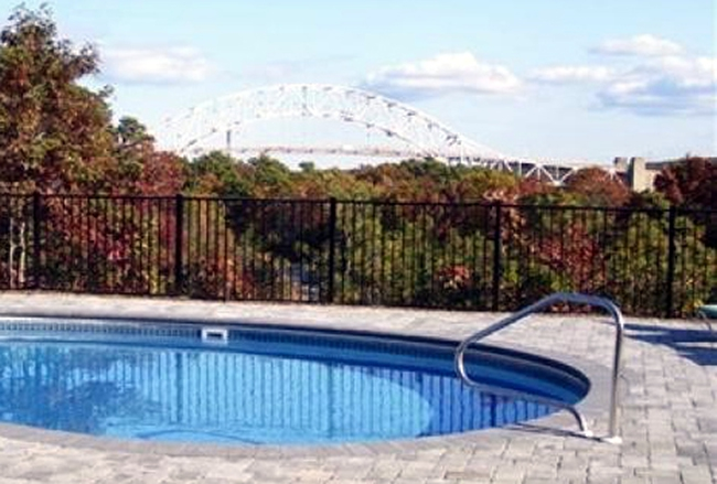 Aluminum POOL CODE Black Ornamental - Aluminum 5