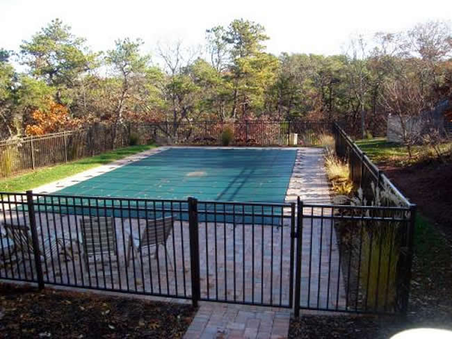 Aluminum POOL CODE Three Rail - Aluminum 9