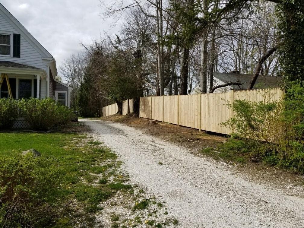 6 ft Stockade Fence - Privacy 47