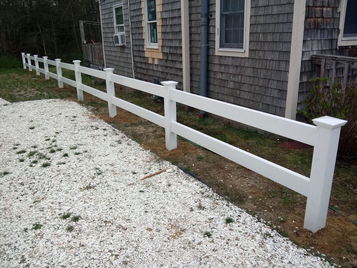 Plank Rail with 6 ft Board  - Rail 17