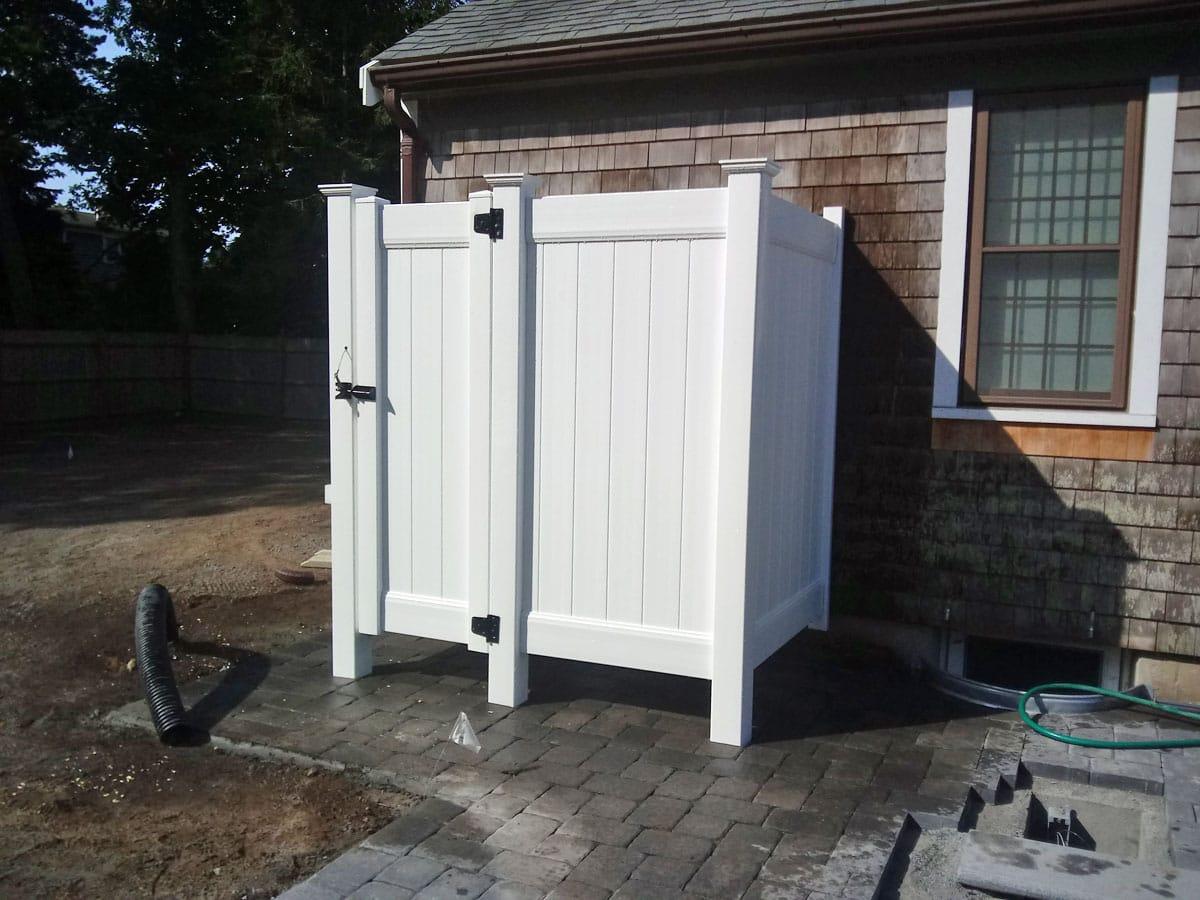 Vinyl Shower Stall with Divider - Enclosure 15
