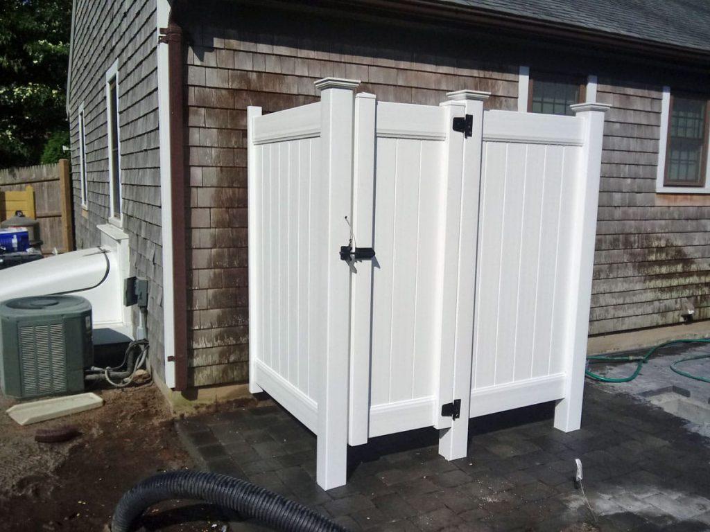 Vinyl Shower Stall with Divider - Enclosure 16